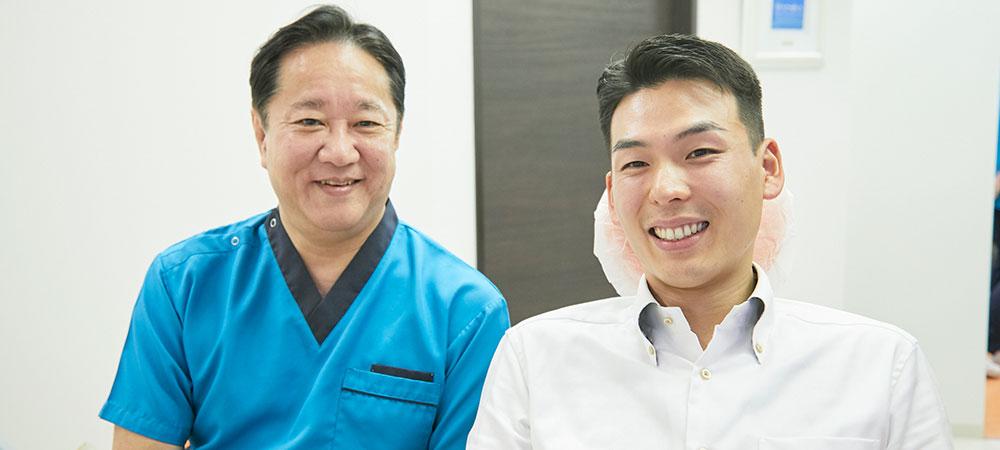 歯の削りを抑えた治療