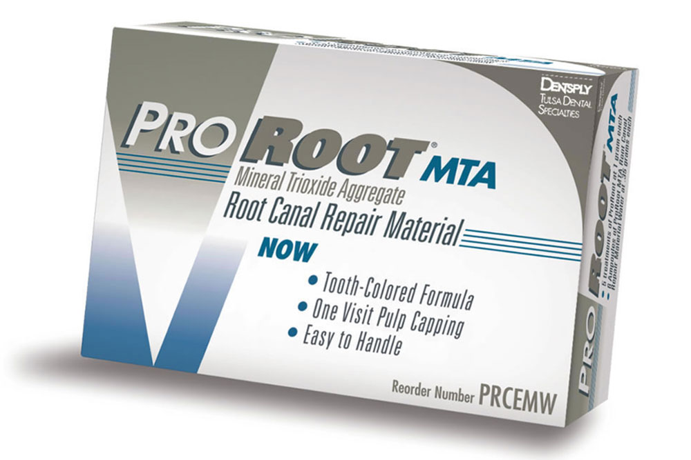 神経を抜かないMTA治療