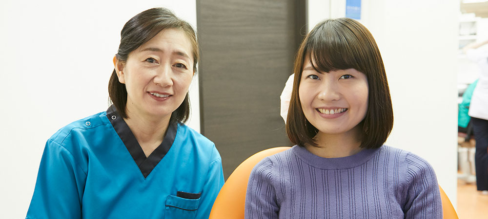 可能な限り痛みを抑えた歯科治療